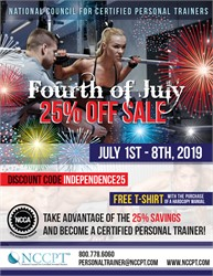 Fourth of July Special Offer with NCCPT
